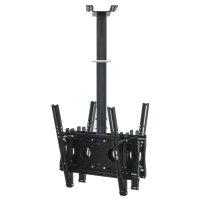 【37〜65型対応】(両面タイプ)超高品質テレビ天吊り金具 下向き調節 水平調節 - D9250-F4040W