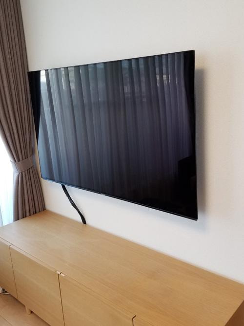 テレビ 壁掛け 工事